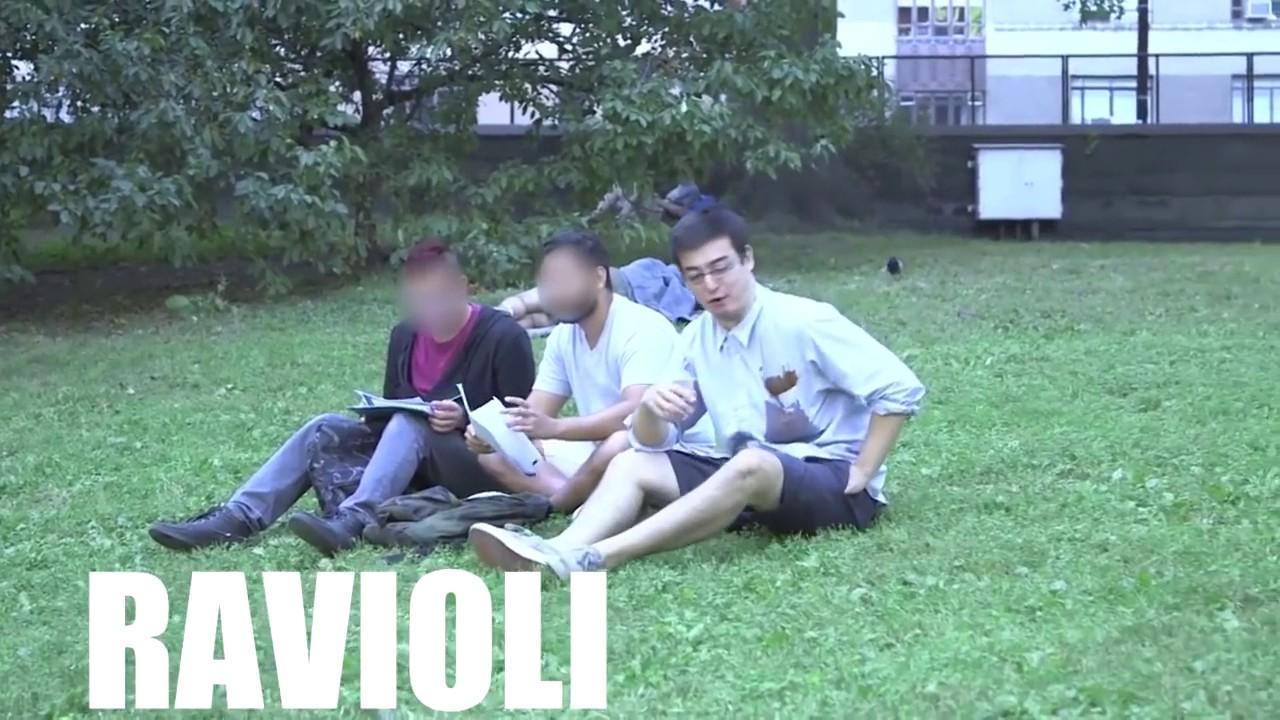Ravioli ravioli whats in the pocketoli gif