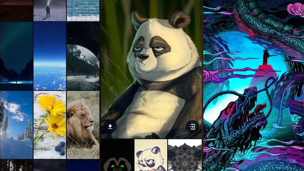 wallpaper app for Android ...