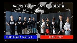 SNIPES FUNKIN STYLEZ 2018 - WORLD TEAM BATTLE HALF FINAL -  TEAM KOREA vs. TEAM ITALY