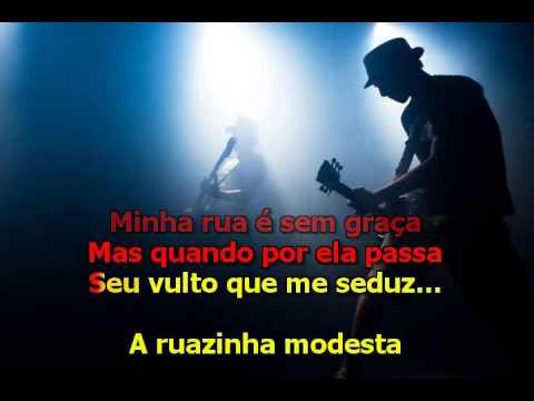 Nelson Gonçalves  -  A Deusa da Minha Rua - Karaoke