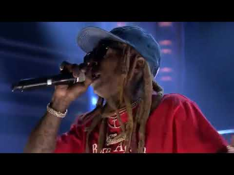 Lil Wayne - Dedicate LIve at Jimmy Fallon Performance Carter 5