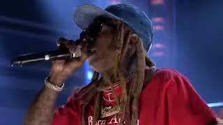 Lil Wayne - Dedicate LIve at Jimmy Fallon Performance Carter 5