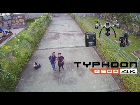 Review Drone Yuneec Typhoon Q500 4K Indonesia