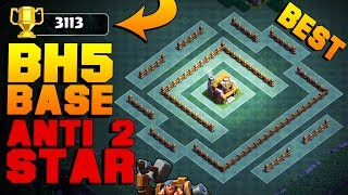 BEST Builder Hall 5 Base After NIGHT WITCH UPDATE | New CoC BH5 Base TESTED + PROOF | Clash of Clans