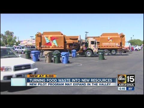 Phoenix testing food waste program