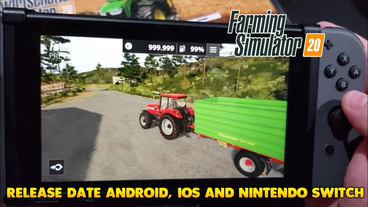 farming simulator 2020 release date preview android ios nintendo switch fs20 vs fs18