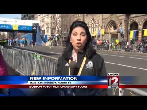 Boston Marathon under tight security