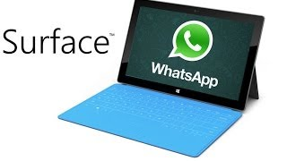 Tutorial: Whatsapp on Microsoft Surface Pro 2014 Bluestacks and others tablets Pc