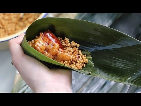 """""""粽""""情四海:浙江嘉兴鲜肉粽"""