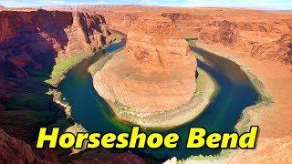 Horseshoe Bend and Glen Canyon Dam