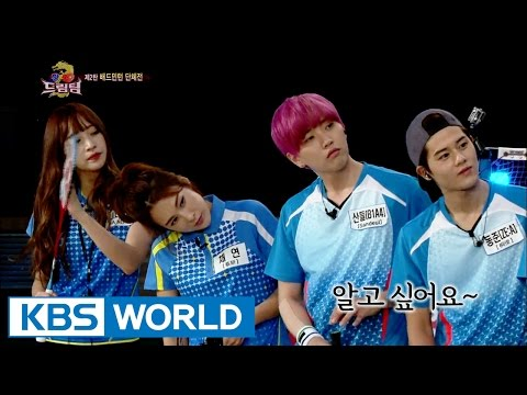 Let's Go! Dream Team II | 출발드림팀 II : Korea-China Dream Team, part 2 - Badminton (2015.10.15)