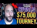 PLAYING IN A $75,000 TOURNAMENT!!! [TWITCH RIVALS] - SoloRenektonOnly