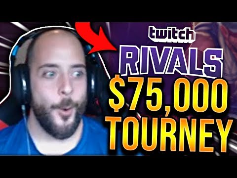 PLAYING IN A $75000 TOURNAMENT TWITCH RIVALS - SoloRenektonOnly