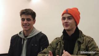 Interview with Jack & Jack | Go Behind the Scenes with the Rising Stars