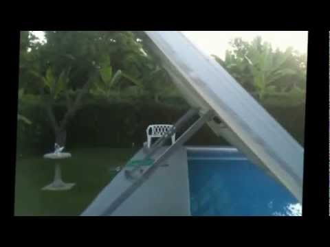 Pool Cover Hidden With The Help Of Gas Struts Doovi