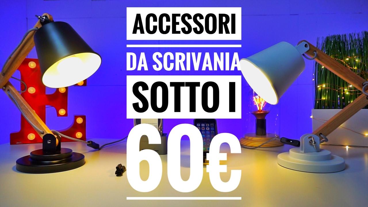 I migliori accessori da scrivania sotto i 60 youtube for Migliori lampade da scrivania
