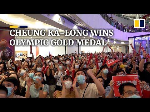 Hong Kong celebrates Olympic win as Cheung Ka-long takes gold in fencing