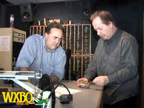 WXBQ Morning Air Show - Richard Quillen Eating Dog Food