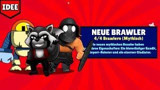 5 Neue Brawler, die im OKTOBER UPDATE kommen MÜSSEN! | Brawl Stars deutsch