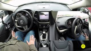 2015 Jeep Cherokee Active ParkSense Park Assist Demo | Automatic Parking Feature |17698