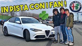 IN PISTA CON I FAN E 510cv!