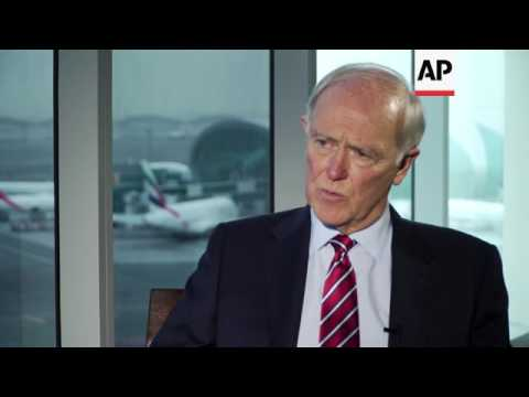 Emirates president comments on electronics ban