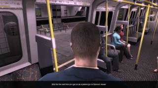 World Of Subways 3 – London Underground Circle Line (Mission Run #1)