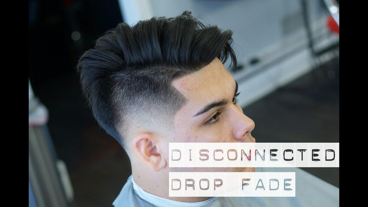 Mens Haircut: Disconnected Undercut Drop Fade