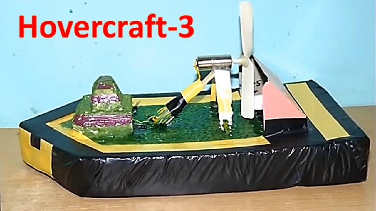 How to make a mini toy hovercraft single motor driven youtube solutioingenieria Choice Image