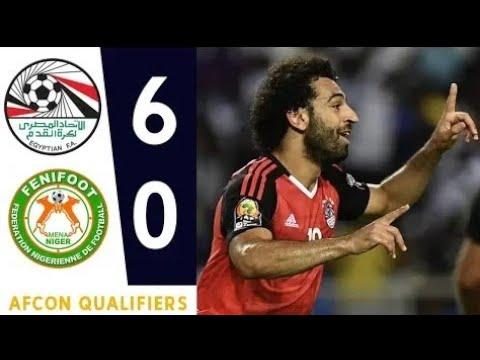 Egypt Vs Niger 6-0 Highlights Match Full HD 720p