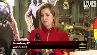 Strawburry17 as Captain Marvel on Marvel LIVE!
