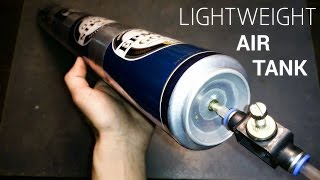 Lightweight Aluminum Air Tank Made Out of Beer Can