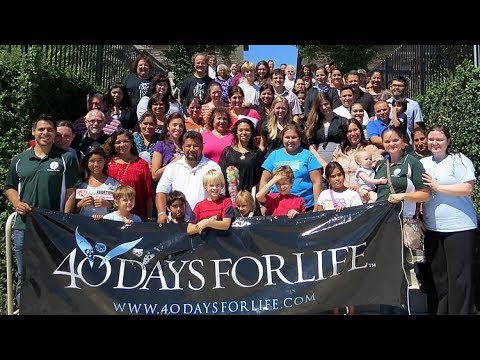 40 Days for Life: Be brave!