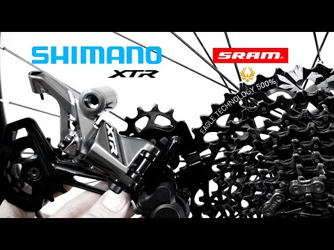 TEST: Shimano 12s Shifter And Derailleur With SRAM Eagle? Mixing XTR 12s M9100 With SRAM Eagle