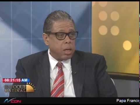 Entrevista a Modesto Guzmán, director Instituto Postal Dominicano en Enfoque Matinal