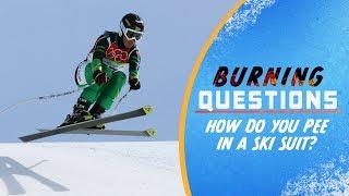 Wie pinkelt man mit einem Skianzug? | Burning Questions