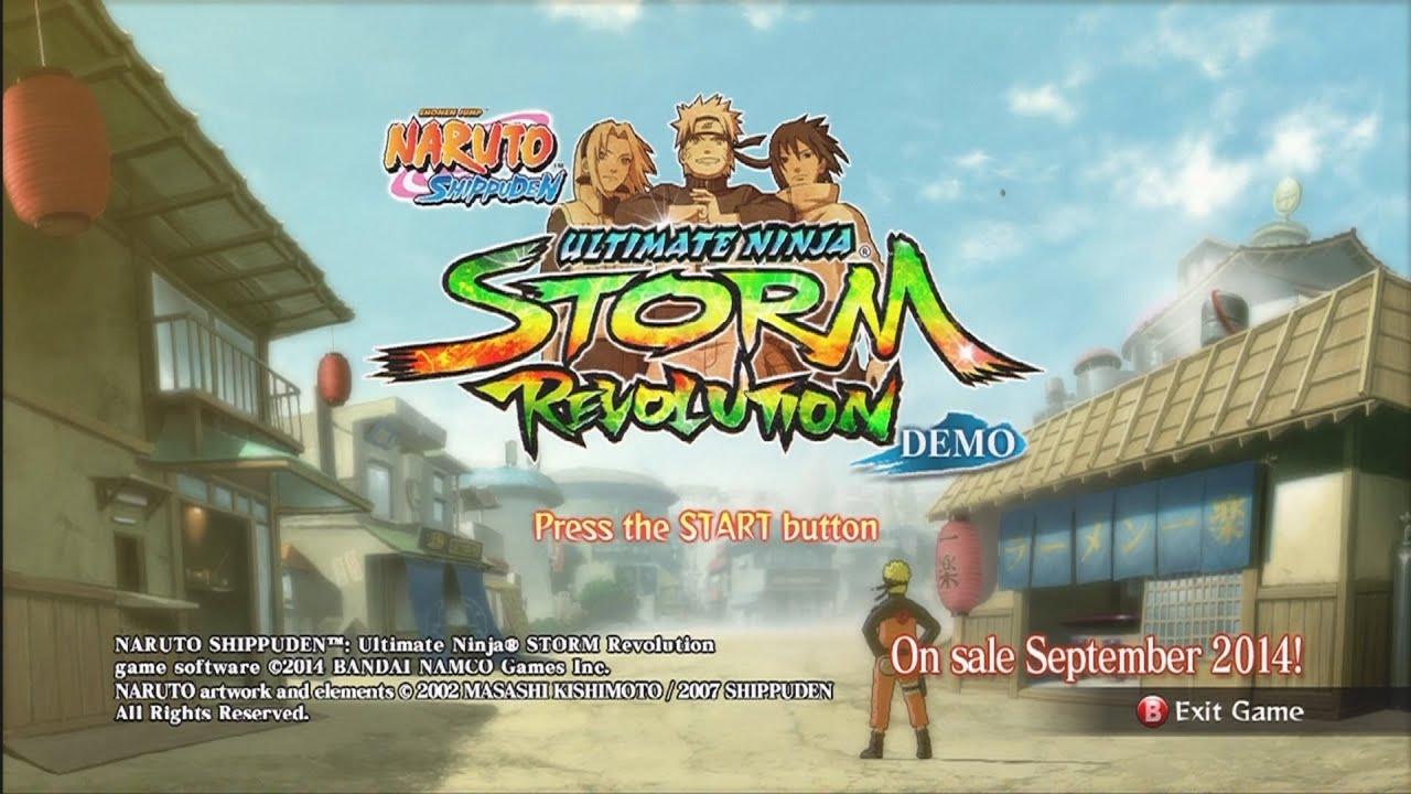 naruto shippuden ultimate ninja storm revolution demo xbox 360 download
