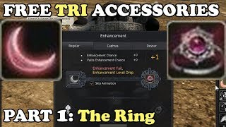 BDO - FREE Tri Accessories Event Part 1: Faint Old Moon Ring