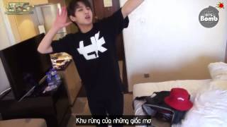 [BangTanSodamn][Vietsub] [BANGTAN BOMB] Forest of Dreams(by Kinetic Flow) in Beijing