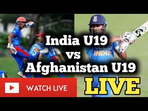 India U19 vs Afghanistan U19 4th ODI Live score Streaming - IND U19 vs AFG U19 4th Youth ODI Live Streaming TV Channels Schedule