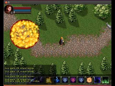 """Linux RPG """"Dawn"""" Gameplay"""