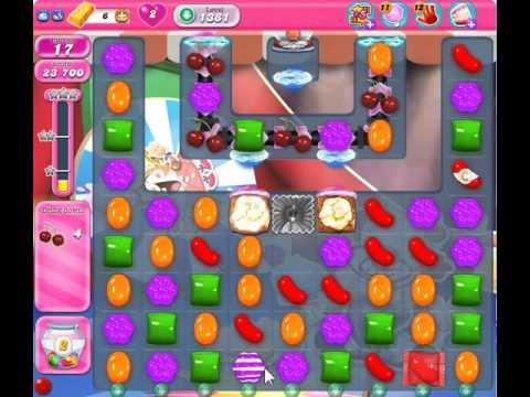 Candy Crush Saga Level 1381 NO BOOSTER - YouTube