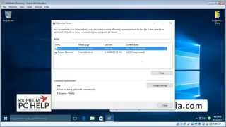 Defragment your hard drive on Windows 10