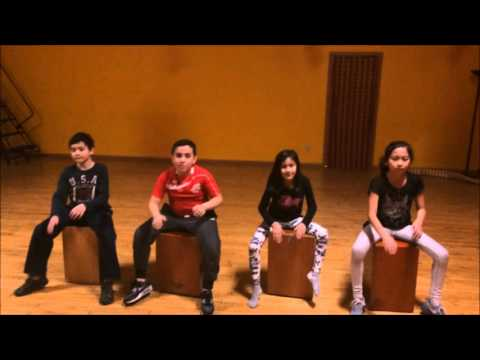 Cajon Classes group 2 - Peruvian Folk Dance Classes Chicago