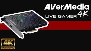 (4K) AverMedia Live Gamer 4K - Hardware