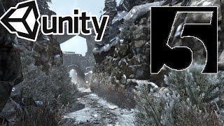 Speed Level Design: Winter Road [ Unity 5 ]