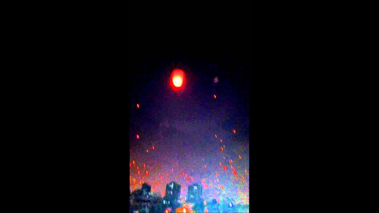 ahmedabad uttarayan night balloons