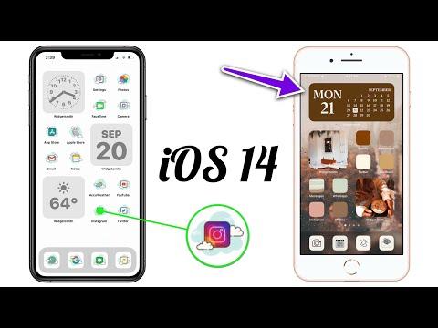 iOS 14 : Comment Créer des Widgets et Icônes d'Apps Personnalisées