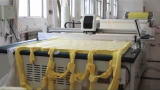 automatic fabric cutting machine and spreading machine