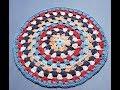 Crochet Granny Circle Part 1